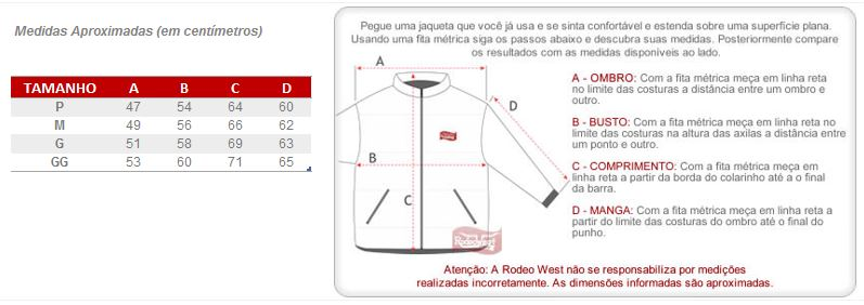 Jaqueta Jeans Masculina Tradicional Dock s 23929 - Rodeo West 00fd4047379